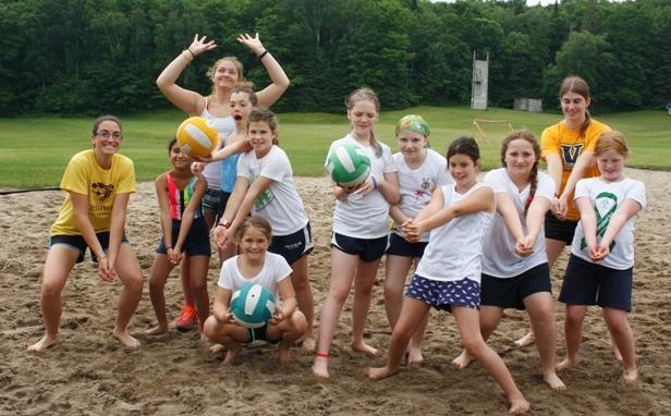 All Girls Sports Camp Leadership Skills